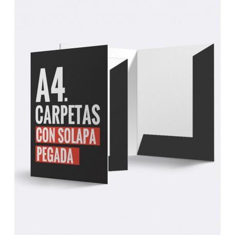 Carpetas A4 / Con solapa pegada