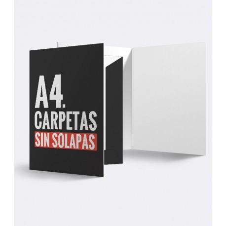 Carpetas A4 / Sin solapas