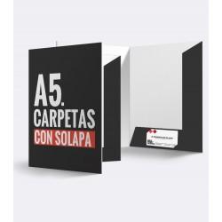 Carpetas A5 / Con solapas