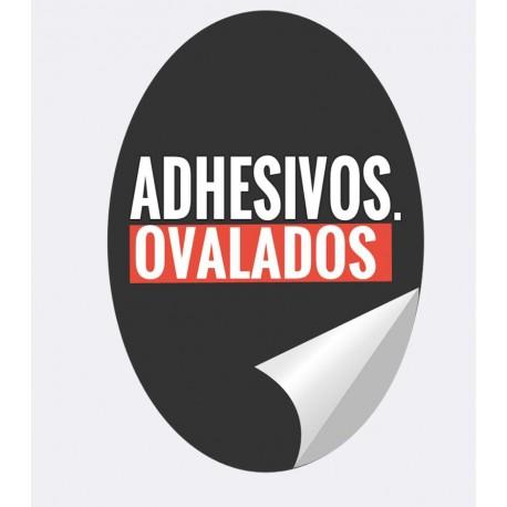 Adhesivos OVALADOS