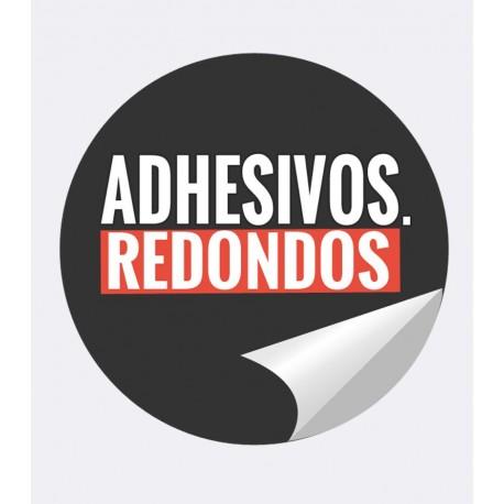 Adhesivos REDONDOS