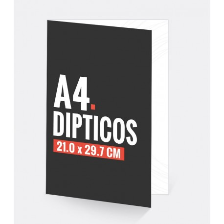 Dipticos A4