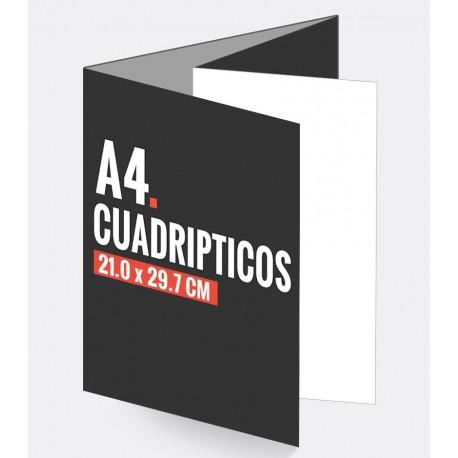 Cuadripticos A4