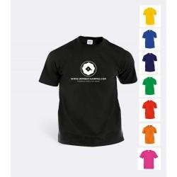 Camiseta Algodon Colores económica C-3003