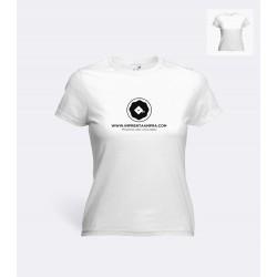 Camiseta Algodon Blanca