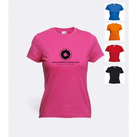 Camiseta Algodon Colores