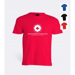 Camiseta Poliester colores C-3004