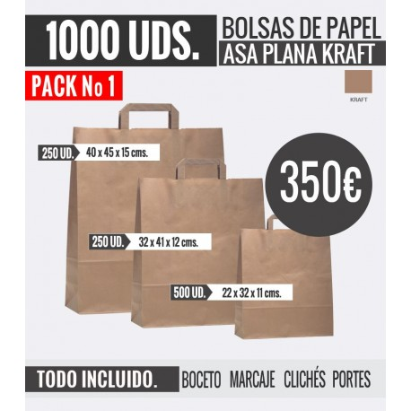 Oferta Bolsas - Pack 1