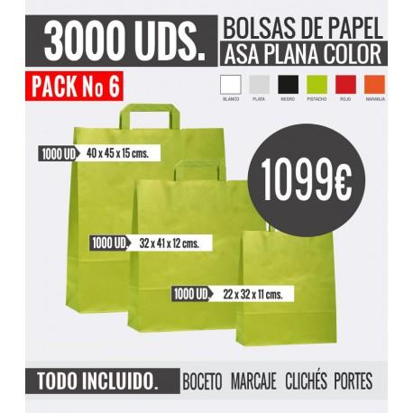 Oferta Bolsas - Pack 6