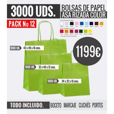 Oferta Bolsas - Pack 12