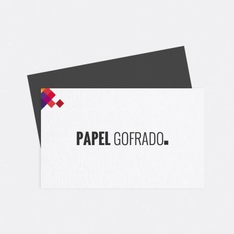 Papel Gofrado