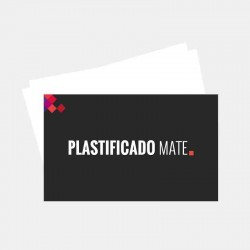 Plastificado Mate 2 caras