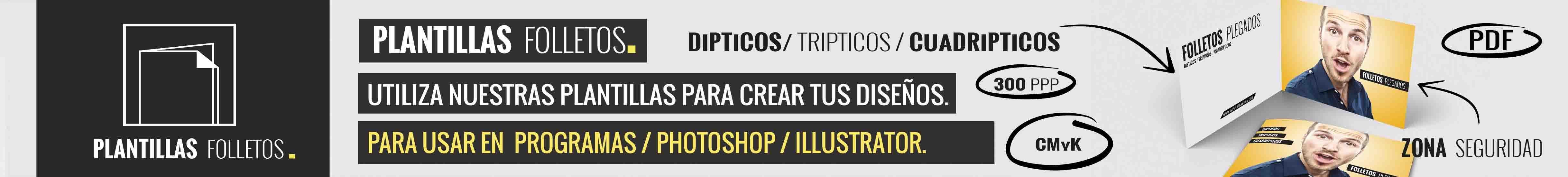 Plantillas trípticos | Dípticos | Cuadripticos - www.imprentaampra.com