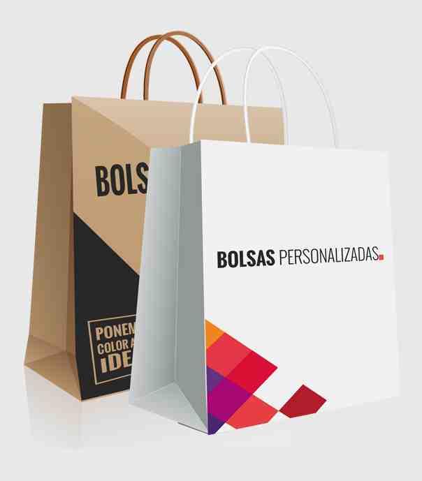 plantillas bolsas de papel personalizadas