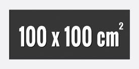 100 x 100 cm