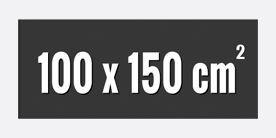 100 x 250 cm